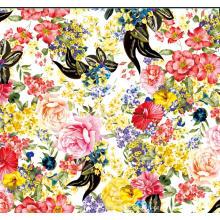 Digitaldruck-Polyester-Kleidergewebe