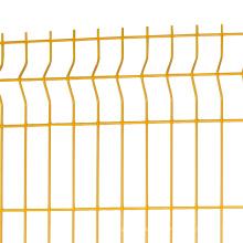 3 D curvado painéis de vedação triângulo cerca de dobra