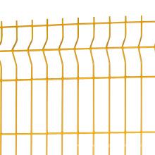 3d gebogener verbiegender Zaun des Zaunplatten-Dreiecks