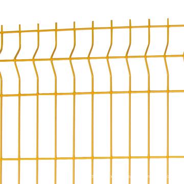 3d panneaux de clôture incurvés triangle pliant clôture