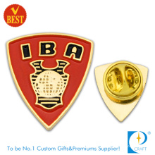 Iba Customized Pin Badge in Good Quality with Gold Plating