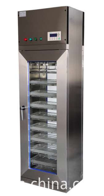 Vertical drying cabinet