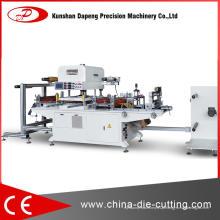 Máquina cortando hidráulica precisa de quatro colunas