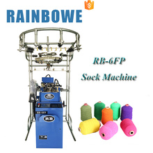 RB brand chinese small computer sock knitting machine for korean cotton socks for sale