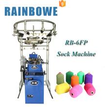 Máquina de confecção de malhas pequena chinesa da peúga do computador do tipo do RB para peúgas coreanas do algodão for sale
