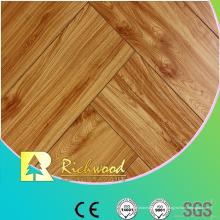 Kommerzielle 12,3 mm geprägte Hickory gewachst Randed Lamianted Floor