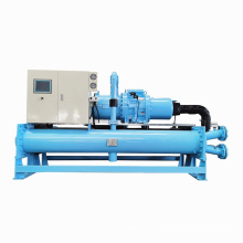 High Efficiency HVAC Cooling System Customize Design Water-Cooled Industrial Screw Water Chiller