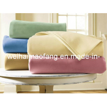Тканые Weave100% чистой шерсти отель одеяло