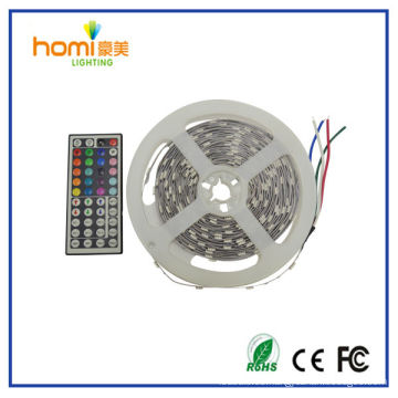 2014 nuevo diseño flexible led strips con doble cara PCB SMD5050 DC12V China mejor rojo azul verde amarillo ww cw tira de LED RGB