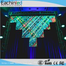 Innenbühnenhintergrund P4.8 führte großen Bildschirm der Anzeige / cortina geführten heißen Verkauf in Kolumbien