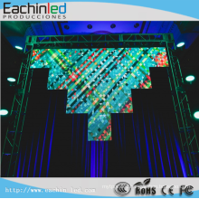P4.8 indoor stage background led display big screen/ cortina led hot sell in Columbia