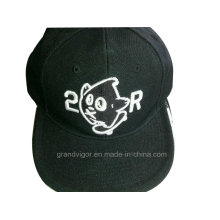 6 Panels Snapback Hat with 3D Embroidery Logo