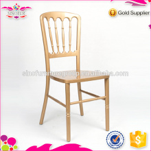 Wholesale Sinofur Gold Wooden Chateau Chair