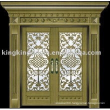 luxury copper door villa door exterior door KK-708