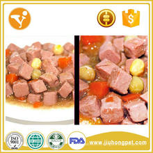 Comida para perros en lata de primera calidad para golosinas para mascotas