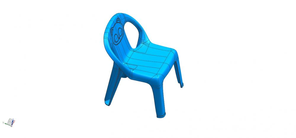 Children Chair Design
