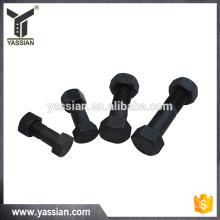12.9 black bolts with nut bucket bolt