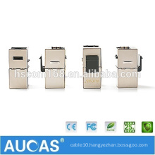 Aucas High Quality Network LAN Cat6 Shielded FTP RJ45 Coupler Best Buy RJ11 Female Connector