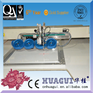HUAGUI computer sequin motif machine rhinestone setting machine