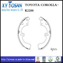 Chaussure de frein pour Toyota Corolla K2288