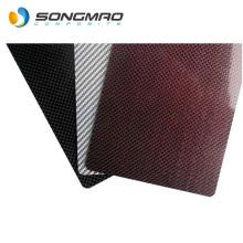 3mm carbon fiber sheet red Carbon fiber plate carbon fiber cars
