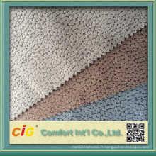 Tissu en suède modé 100% polyester