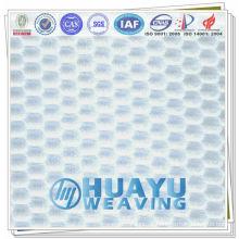 YD-1073, tecido de malha de malha de poliéster fresco para sapatos