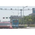 Acero, tráfico, vigilancia, camino, cctv, cámara, poste, precio