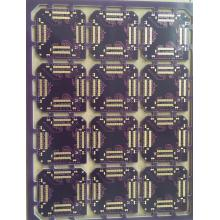 4 layer FR4 1.6mm Purple Solder ENIG PCB