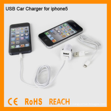 Car USB Charger Adapter pour iPhone 5 WF-106