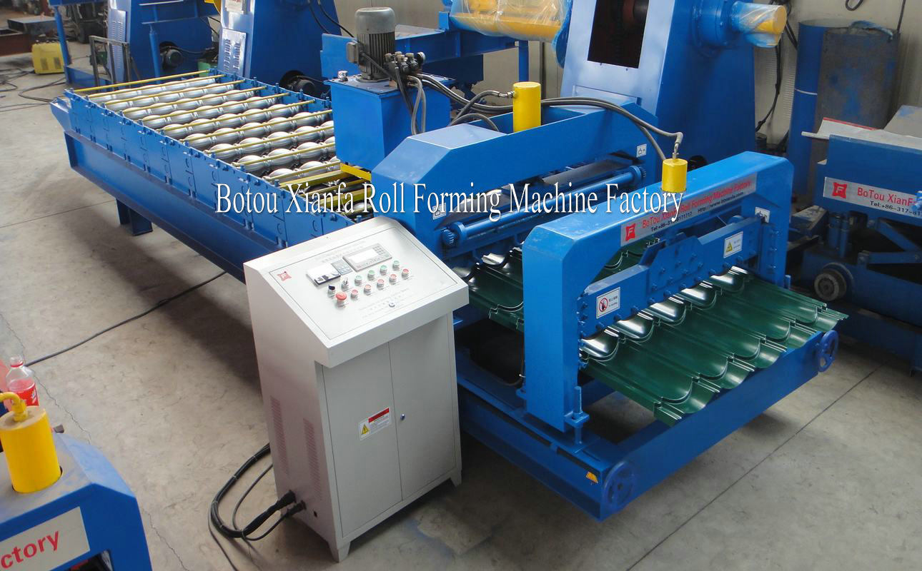 roofing tile equipment