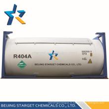Fluide frigorigène mixte R404A à haute qualité et pureté en réservoir