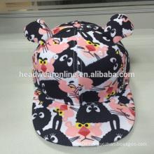 children's snapback cap/kis cap /cartoon cap