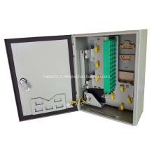 Nouvelle boîte de distribution de câble à fibre optique 48 cœurs
