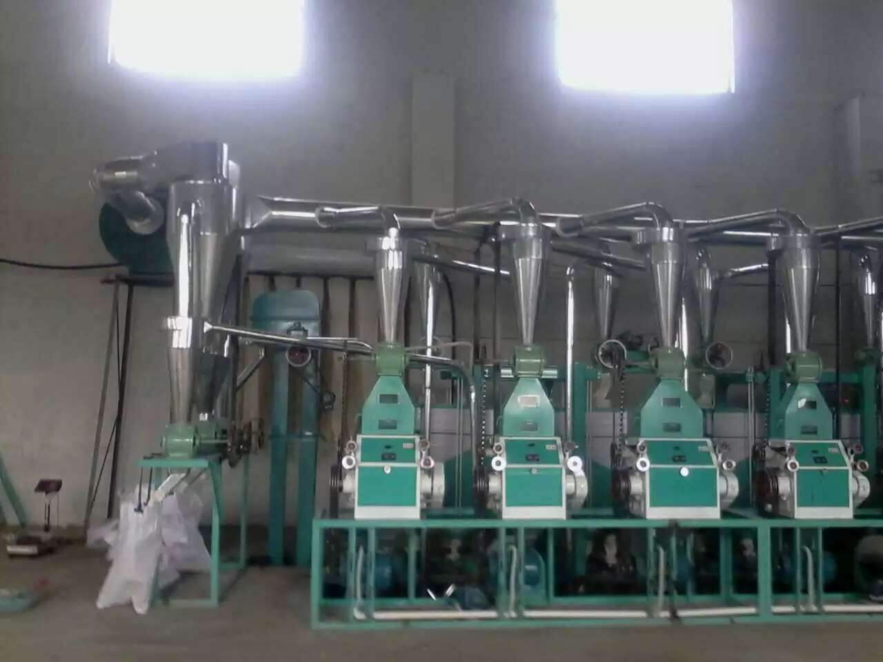 6F fully automatic flour mill