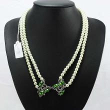 Beli Double Strand Akoya Pearl Necklace