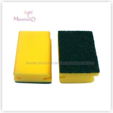 Sponge Scourer Scrubber Washing Kitchen Cleaning Sponge Scouring Pad