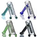 Hammer estilo Bubbler para fumar uso com detalhes coloridos (ES-GB-066)