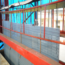 Zinc plated welded mesh panel