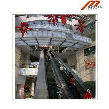 Escalator en aluminium pour centre commercial