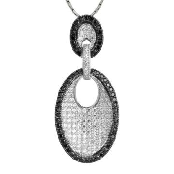 Las ventas enteras 925 plata esterlina joyería plata cuelgan los colgantes
