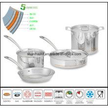 5layer Copper Core Cookware Set