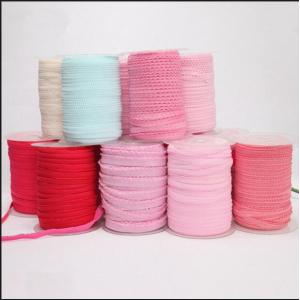 customized knitted polyester elastic with high elasticity