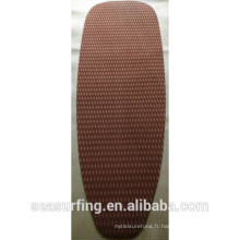 2015 coffee color pad single section sqaure texture traction pad/deck pad