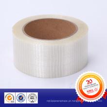 Fita reforçada com fibra de vidro com linhas fixas e grades