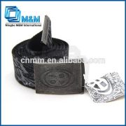 Canvas Belt With Full Printing Fabric Belt