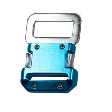 45mm Schnellwechsel Aluminium und Stahl Sicherheit für Harness Gürtelschnalle