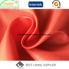 Polyester Shiny Thin Soft 210t Trilobal Lining Lady′s Garment Lining