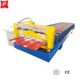 Hydraulic motor drive Roof Trapezoidal Roll Forming Machine