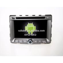 Hottest Top qualité 7 pouces 2-din android voiture GPS navigateur multimédia pour Ssangyong Rodius